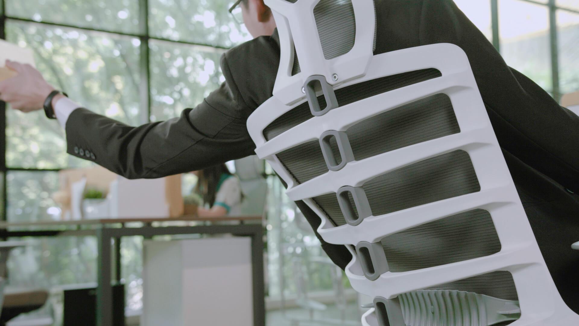 ergonomski pisarniski stoli ergovision iflex 005