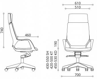 ergonomski pisarniski stoli ergovision istyle dimension