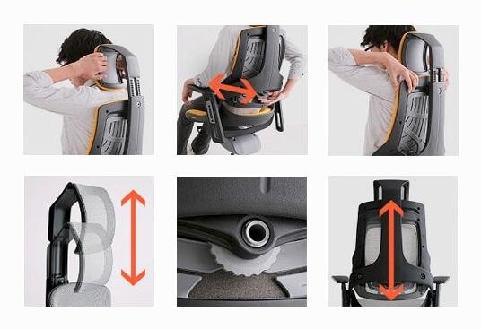 ergonomski pisarniski stoli ergovision itrek 009