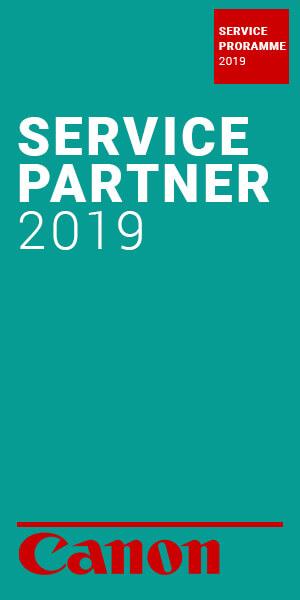 Service partner 2019 canon