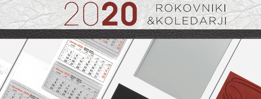 Rokovniki in koledarji 2020