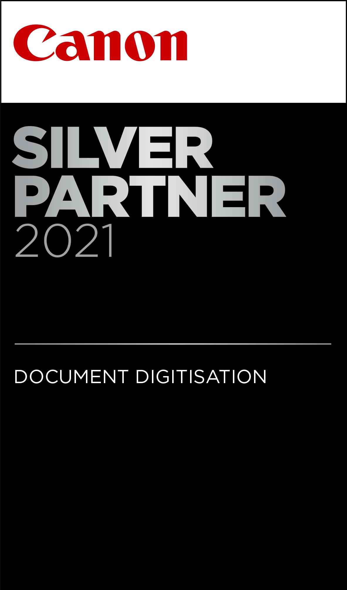 Silver extended vertical Document Digitisation